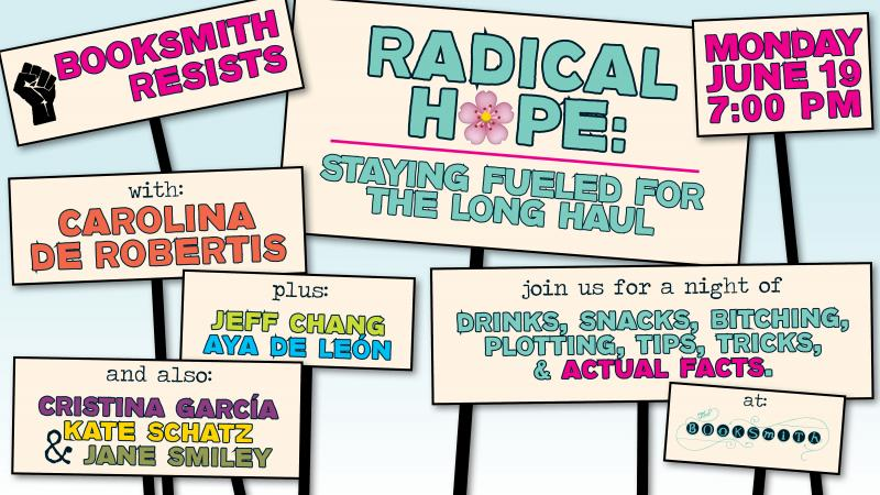 Booksmith Resists: A Radical Hope Party