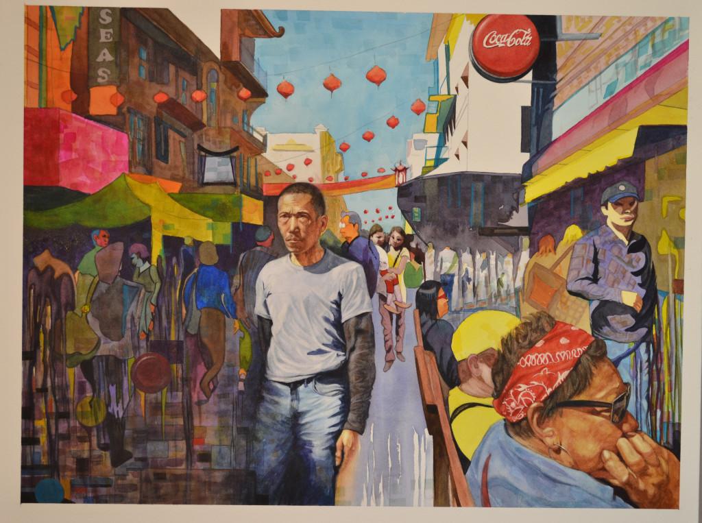 Chinatown 5 by Doug Sandelin