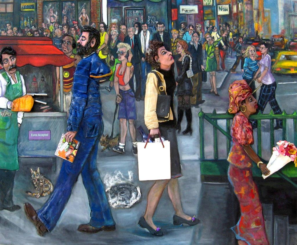 Downtown by Nancy Calef