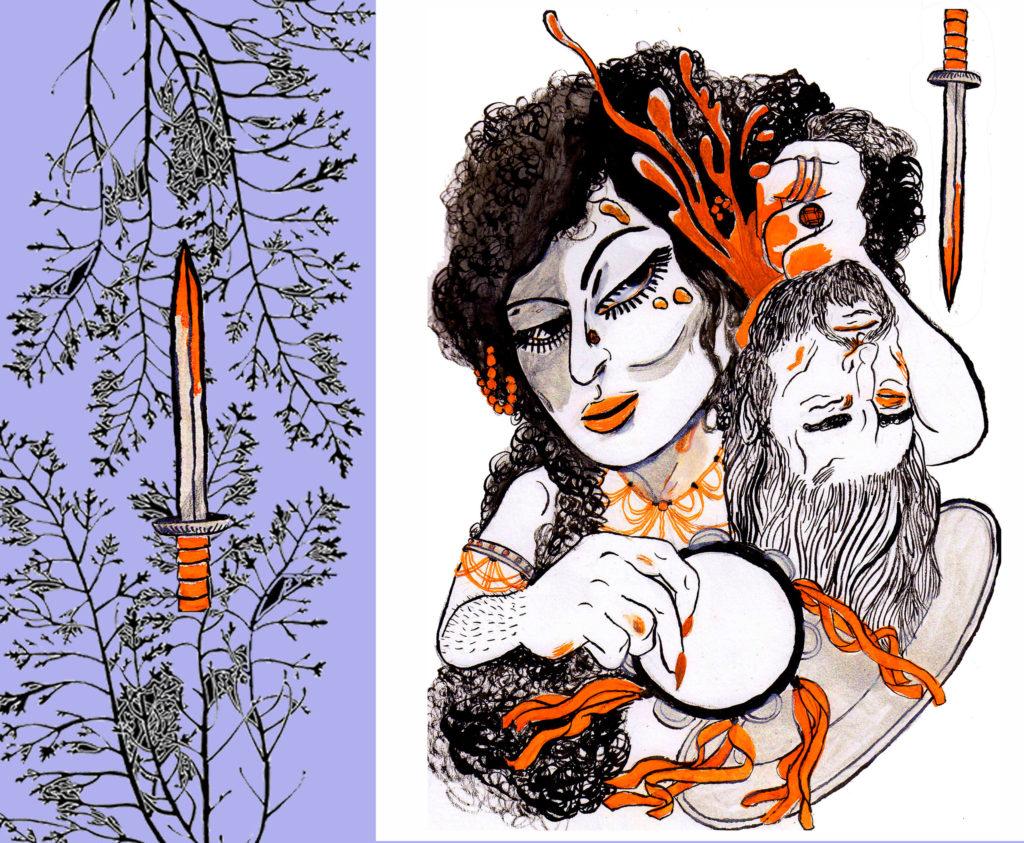 art for sPARKLE & bLINK 97 by Madeline Gobbo