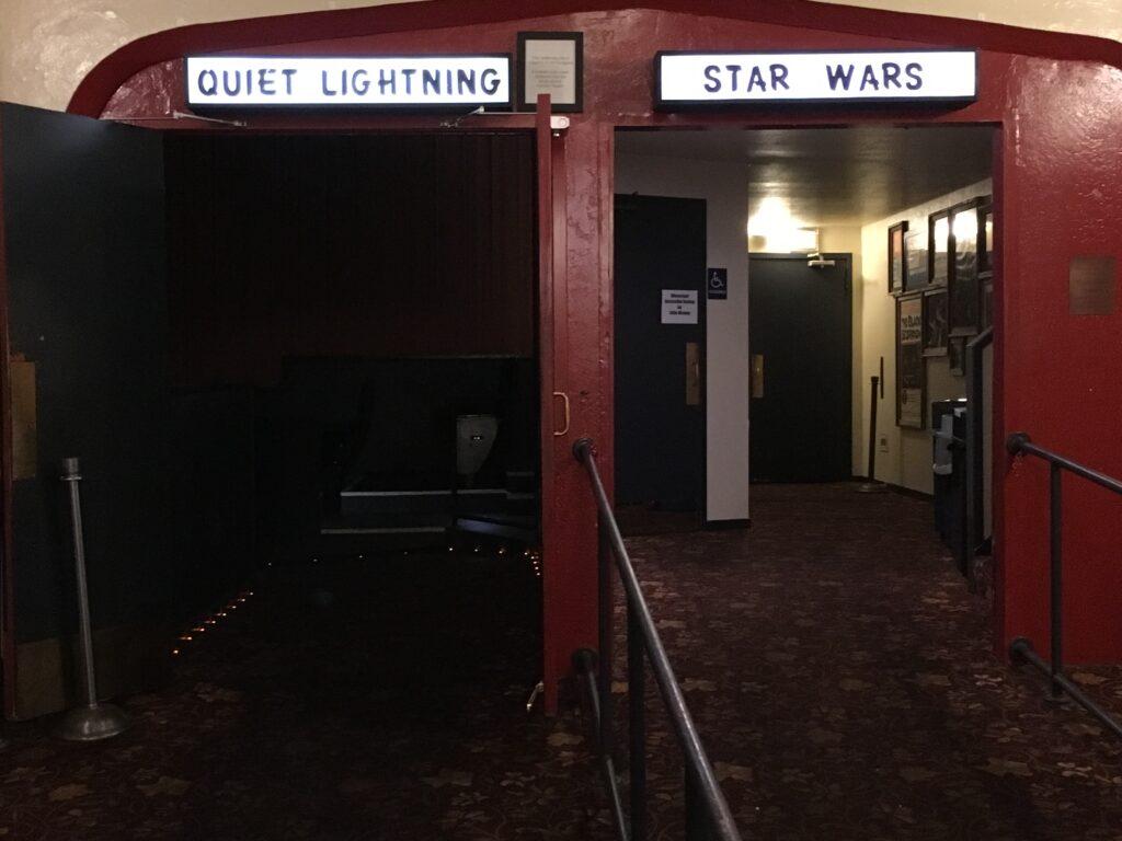 Quiet Lightning or Star Wars